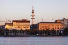 Heinrich-Hertz Tower in Hamburg. Hamburg, Germany Stock Photography