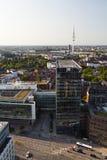 Heinrich Hertz TV Tower in Hamburg, Germany Royalty Free Stock Photos