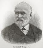Heinrich Kiepert Stock Photography