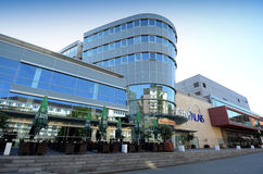 Heinrich kwadrat - miasto Palais Obraz Stock