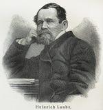 Heinrich Laube Royalty Free Stock Photos