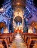 Heinz Chapel. Interior of the interdenominational Heinz Chapel in PIttsburgh, Pennsylvania, USA Royalty Free Stock Image