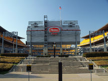 Heinz Field Home von Pittsburgh-Fußball-Teams Lizenzfreie Stockfotografie