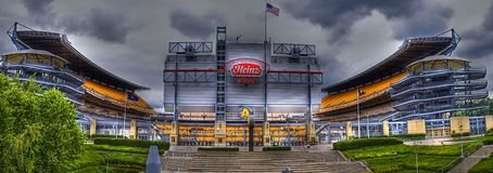Heinz field panoramic Stock Photo