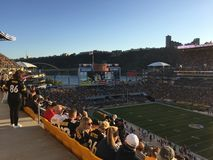 Heinz field Pittsburgh stadium Royalty Free Stock Photography