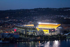 Heinz Field Stadium On Ohio Royaltyfri Fotografi