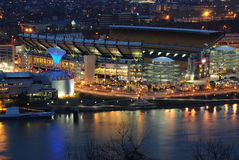 Heinz Filed. Heinz Field is the home of the Pittsburgh Steelers, a NFL team located in Pittsburgh, Pennsylvania stock image