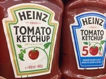Heinz Ketchup foto de archivo libre de regalías