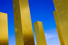 Heinz Mack - il cielo oltre nove colonne Immagini Stock Libere da Diritti