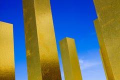 Heinz Mack - niebo nad dziewięć kolumnami Obrazy Royalty Free
