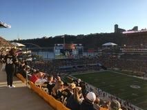 Heinz pola Pittsburgh stadium Fotografia Royalty Free