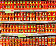 Heinz soup. Heinz is one of the USA's leading food manufacture and distribute world wide. Best known for soup and ketchup royalty free stock photos