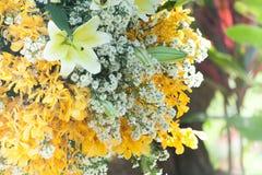 Heirat, Brautduschblumen Lizenzfreies Stockbild
