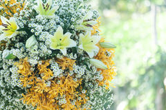 Heirat, Brautduschblumen Stockbilder