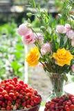 Heirat, Brautduschblumen Stockbild