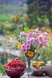 Heirat, Brautduschblumen Stockfoto