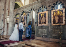 Heirat in Georgia Lizenzfreie Stockbilder