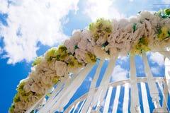 Heirat im Freien Lizenzfreies Stockfoto