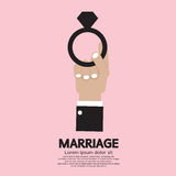 Heirat-Ring Stockfoto