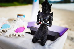 Heirat in Thailand lizenzfreies stockbild