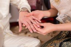 Heirat in Thailand Stockbild