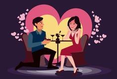 Heiraten Sie mich? Stockfotografie