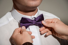Heiratende orthodoxe Zeremonie stockfotos