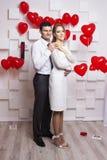 Heiratende schöne Paare Stockfoto