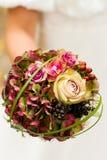 Heiratender Brautblumenstrauß Lizenzfreies Stockbild