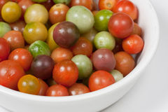 Heirloom Cherry Tomates Stock Images