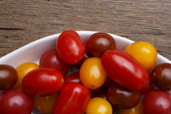 Heirloom Cherry Tomatoes Royalty Free Stock Images