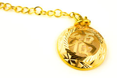 Heirloom gold jewelry Royalty Free Stock Image