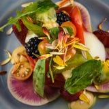 Heirloom pomidoru sałatka Obraz Stock