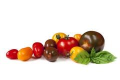 heirloom pomidory Zdjęcie Royalty Free