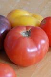 heirloom pomidory Zdjęcia Stock