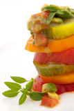 Heirloom Tomato Salad Stock Photos