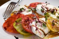 Heirloom Tomato Salad Royalty Free Stock Photography