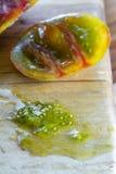 Heirloom tomato slime Stock Photos