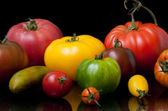 Heirloom tomatoes Stock Photos