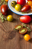 Heirloom tomatoes. Royalty Free Stock Photo