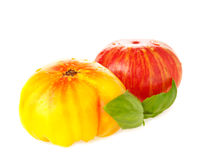 Heirloom tomatoes Stock Photo