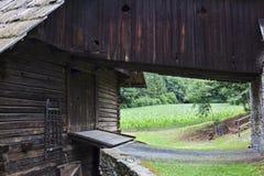 Heiserstadl in open-air museum Maria Saal, Austria Royalty Free Stock Image