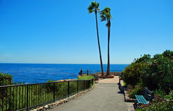 Heisler Parks Monument Point, Laguna Beach, California Stock Image