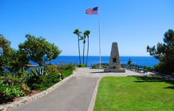 Heisler Parks Monument Point, Laguna Beach, California Stock Photos