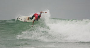 Heitor Alves (BRA) winner in ASP World Qualifier Royalty Free Stock Photo