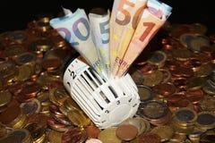 Heizkosten - Heizkosten Lizenzfreies Stockfoto