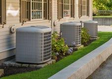 Heizung und Klimaanlagen stockbild