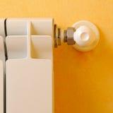 Heizungsheizkörperregler-Frontdetail lizenzfreie stockfotografie
