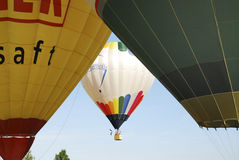 Heißluft-Ballon-Festival Stockfoto