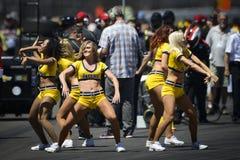 Hejaklacksledare på Indianapolis 500 2014 Royaltyfri Foto
